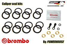 Ducati Monster M 1100 S Freno Delantero Caliper Seal Kit de reparación 2009 2010 2011 2012