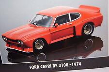 Ford Capri rs 3100 racing 1974 rouge 1:18 MINICHAMPS NEUF & OVP