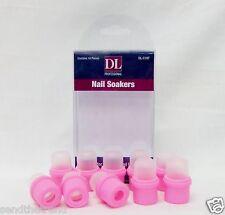 DL Debra Lynn Wearable Artificial Nail Soakers Remover Gel 10/pk