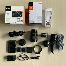 Sony A6000 24.7MP Camera with Interchangeable Lens and Accessories