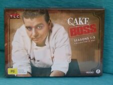 CAKE BOSS SEASONS 1 TO 3 NEW SEALED COLLECTOR'S BUDDY VALASTRO CARLO'S BAKERY DV