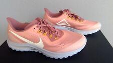 Nike Air Zoom Pegasus 36 Trail Womens Size 12 Shoes AR5676 601 Run Trainers