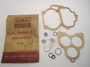 52-56 Ford Passenger Carburetor Gasket Kit NOS B4A-9502-B