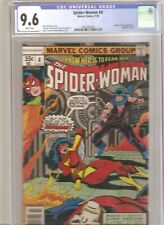 Spider-Woman #4 (1978) CGC 9.6 -- White pages