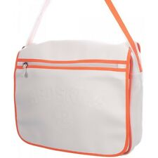 REDSKINS WHITE ORANGE HANDBAG SHOULDER FLAP MESSENGER CROSS BODY BAG A4 NEW!!!