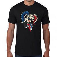 Harley Quinn T-Shirt,killer Superhero DC Comics Batman Suicide Squad Joker Top