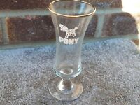 Pony Schooner Glass - Vintage