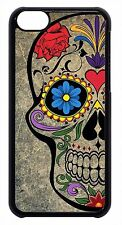 New Cute Sugar Skull Skeleton Mexican Day Back Case Cover For Apple iPod 4 5 6