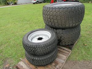Set Fr - Rr Titian  LSW305-521 6PR - LSW570-648 6PR Soft Turf New Tires & Rims