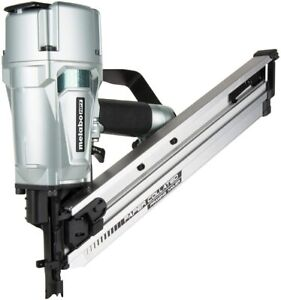 """Hitachi/Metabo NR83AA5M 3-1/4"""" Clipped Head Paper Collated Framing Nailer"""