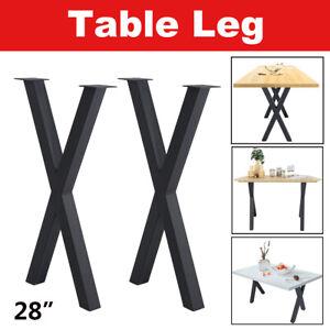 """Option Industry Table Legs 28"""" 22""""16""""Coffee Desk Chair Legs Metal DIY Furniture"""