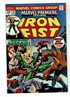 Marvel Premiere #19, VF+ 8.5, Iron Fist, Wolverine/Hulk ad, 1st Colleen Wing