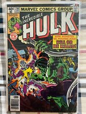 the Incredible Hulk 236 comic marvel comics 1979