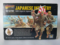 WARLORD GAMES 30 Multipose JAPANESE INFANTRY WW2 28mm Minatures BOXED BRAND NEW
