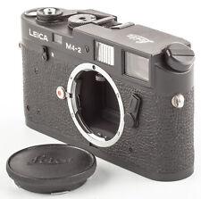 Leica M4-2 CANADA Gravur Gehäuse Schwarz  SHP 60201