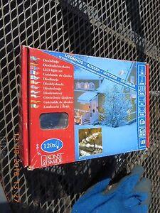 KONSTSMIDE 3612-850 OUTDOOR/INDOOR  120 LED  LIGHTS  SET  NEW IN  BOX