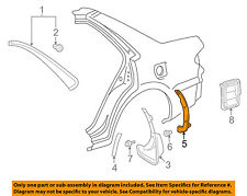 TOYOTA OEM 98-02 Corolla Exterior-Protector Left 7692802010