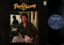 "Hong Kong Paul Cheong Try It On English Philips Singapore 12"" Chinese LP CLP263"
