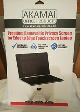Akamai Removal Privacy Screen for Touchscreen Laptop 15.6