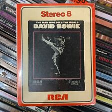 DAVID BOWIE // The Man Who Sold The World [8-Track, NEW] SEALED!!!