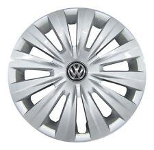 4x original VW Tapacubos rueda parabrisas 15 pulgadas VW SEAT SKODA #6-27