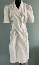 Vintage Nurse UNIFORM Maid Cosplay Fetish Peaches White Uniform Circa 70s USA