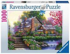 RAVENSBURGER PUZZLE ROMANTISCHES COTTAGE 1000 TEILE 15184 NEU