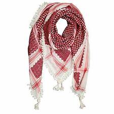 Red Arafat Desert Scarf / Big Shoulder Rumaal Scarf / Neckerchief Muslim Scarf