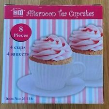 Afternoon Tea Silicone Cupcake Moulds