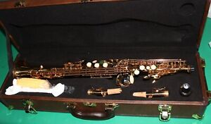 SAXOPHONE SOPRANO Sib/Fa# NEW ORLEANS® OR - BEC - 10 REEDS - DVD ACCESSOIRES