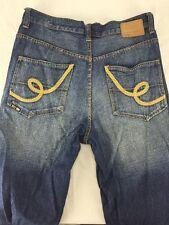 ECKO UNLTD. - Loose Baggy Fit Blue Jeans - Men Size 32  ACTUAL 34 X 31