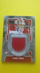 2012-13 Between The Pipes Jersey SILVER Carey Price # M-51 /140 Montreal HABS
