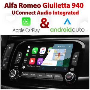 Alfa Romeo Giulietta UConnect Apple CarPlay & Android Auto retrofit Kit