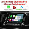 Alfa Romeo Giulietta UConnect Apple CarPlay & Android Auto retrofit Kit