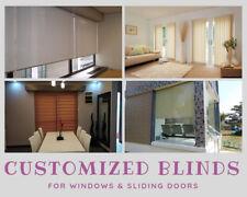 Customized Blinds for Windows & Sliding Doors