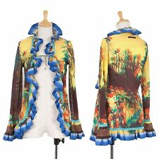 Jean-Paul GAULTIER FEMME Jungle graphics Cardigan Size 40(K-45978)