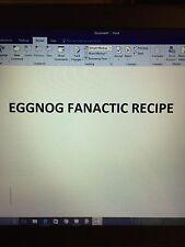 Eggnog Fanactic Recipe