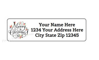 30 Custom Bruiser Baseball Bulldog Personalized Address Labels