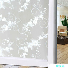 Window Glass Films Stickers Privacy Covering Static Cling Vinly Self Adhesive