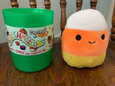 """Squishmallows Halloween 2019 Mystery Squad 4"""" Cannon Candy Corn Kellytoy RARE"""