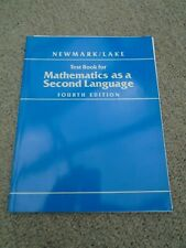Test Book for Mathematics as a Second Language, 4th edition, Good