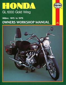 Honda GL1000 Gold Wing (75 - 79) Haynes Repair Manual