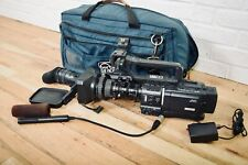 Jvc Gy-Hd110 High Definition Mini Dv Camcorder W/ Fujinon Tv Lens, mic, bag
