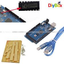 CH340G Mega2560 R3 ATmega16U2 Board+Acrylic Transparent Case for