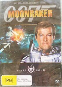 James Bond : 007 : Moonraker : DVD : Roger Moore