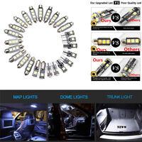 25 Pcs Car Truck Interior White LED Light Bulb Kit 12V for Dome Map Reading Lamp