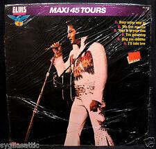 ELVIS PRESLEY-Maxi 45 Tours-Rare Fully Sealed France Import Album-RCA #PC8405