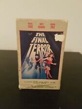 The Final Terror--Beta Betamax--Daryl Hannah--Horror