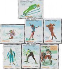 Nicaragua 3008-3014 (complète edition) neuf avec gomme originale 1990 Jeux Olymp