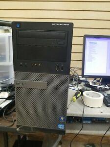 Dell OptiPlex 3010 MT Intel i5-3470 3.2GHz 4GB DDR3 WIN7COA  No HDD